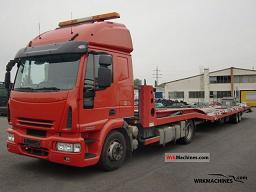 IVECO EuroCargo 120 E 28 2007 Car carrier