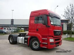 MAN TGA 18.440 2009 Semi-trailer truck