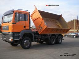 MAN TGA 26.430 2006 Three-sided Tipper Truck