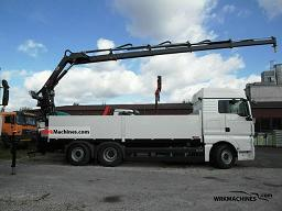 MAN TGA 26.440 2011 Truck-mounted crane