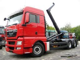 MAN TGA 26.440 2011 Roll-off tipper Truck