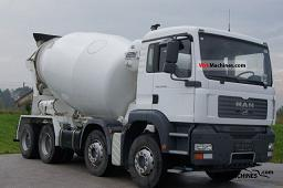 MAN TGA 35.350 2007 Cement mixer Truck