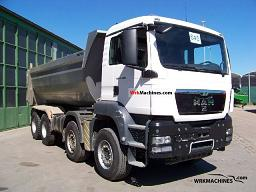 MAN TGA 41.480 2008 Tipper