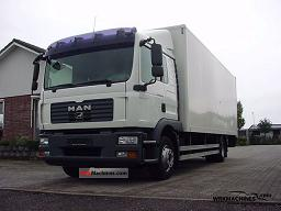MAN TGL 12.240 2007 Box Truck