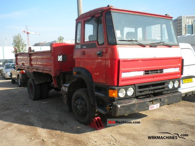 1990 DAF F 1700 1700 Truck over 7.5t Tipper photo