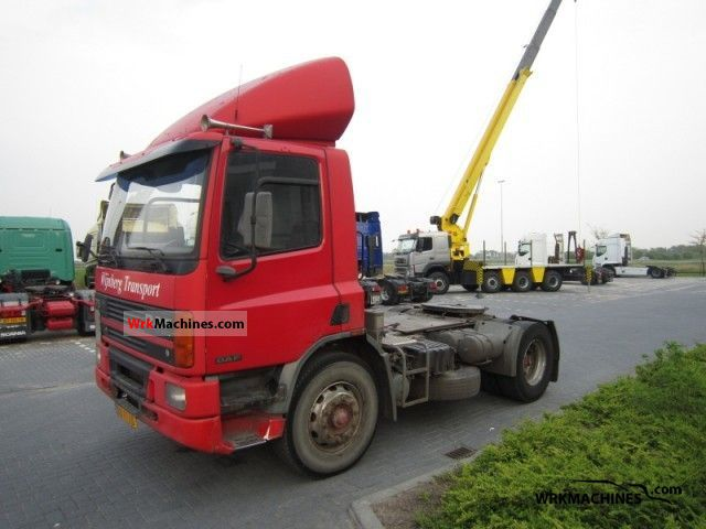 1994 DAF 75 75.270 Semi-trailer truck Standard tractor/trailer unit photo
