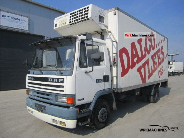 1988 DAF F 1000 1000 Truck over 7.5t Refrigerator body photo