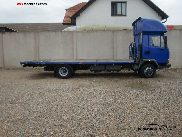 2000 DAF 45 FA 45.210 B11 Truck over 7.5t Stake body photo