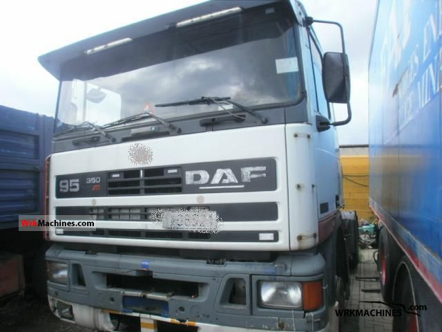 1990 DAF 95 95.350 Semi-trailer truck Standard tractor/trailer unit photo