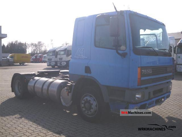 2000 DAF 75 CF 75 CF 320 Truck over 7.5t Car carrier photo