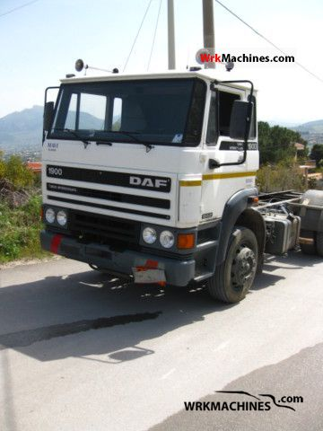 1991 DAF F 1900 1900 Truck over 7.5t Tank truck photo