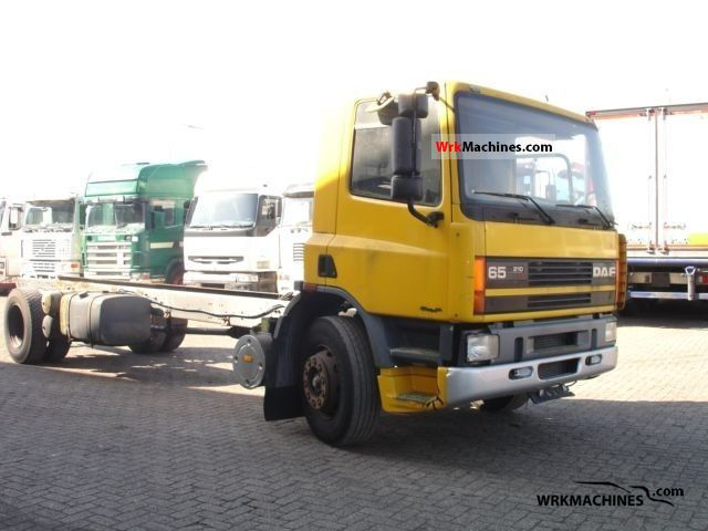 1996 DAF 65 65.210 Truck over 7.5t Chassis photo