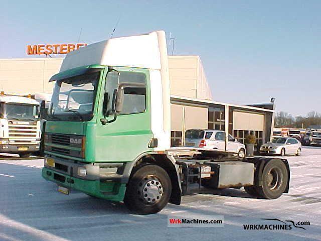 1994 DAF 75 75.300 Semi-trailer truck Standard tractor/trailer unit photo