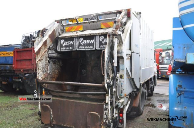 1989 DAF F 1700 1700 Truck over 7.5t Refuse truck photo