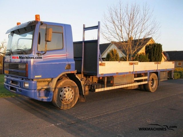 1997 DAF 65 65.240 Truck over 7.5t Stake body photo