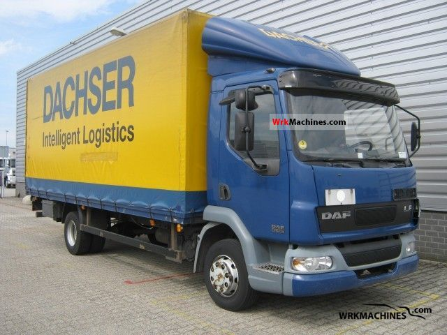 2001 DAF LF 45 45.180 Van or truck up to 7.5t Box photo