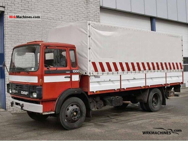 1984 DAF F 1300 1300 Truck over 7.5t Box photo