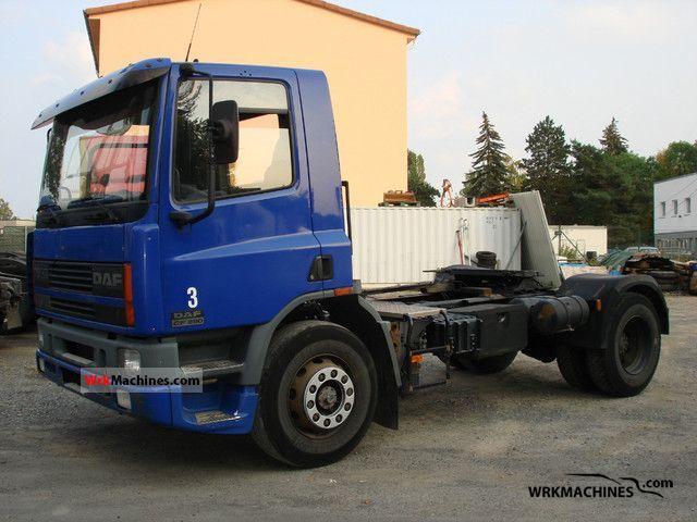 1999 DAF 75 CF 75 CF 290 Semi-trailer truck Standard tractor/trailer unit photo