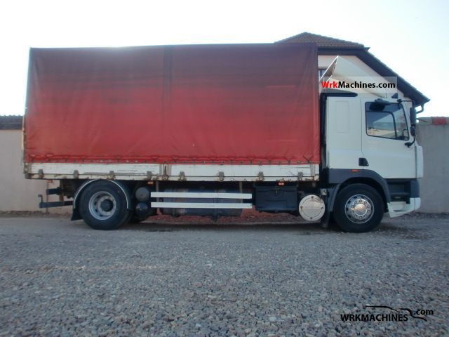 1999 DAF 85 CF 85 CF 380 Truck over 7.5t Stake body and tarpaulin photo