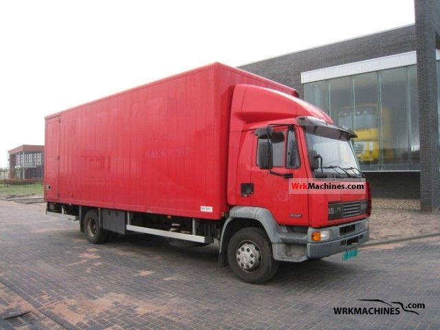 2001 DAF LF 55 55.180 Truck over 7.5t Box photo