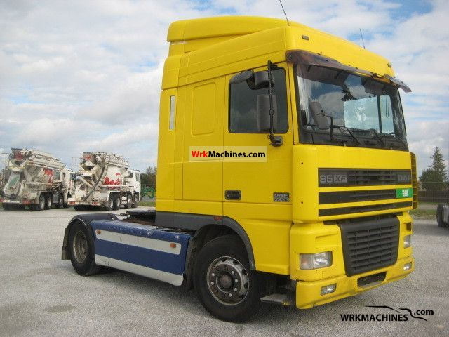 2000 DAF 95 XF 95 XF 430 Semi-trailer truck Standard tractor/trailer unit photo