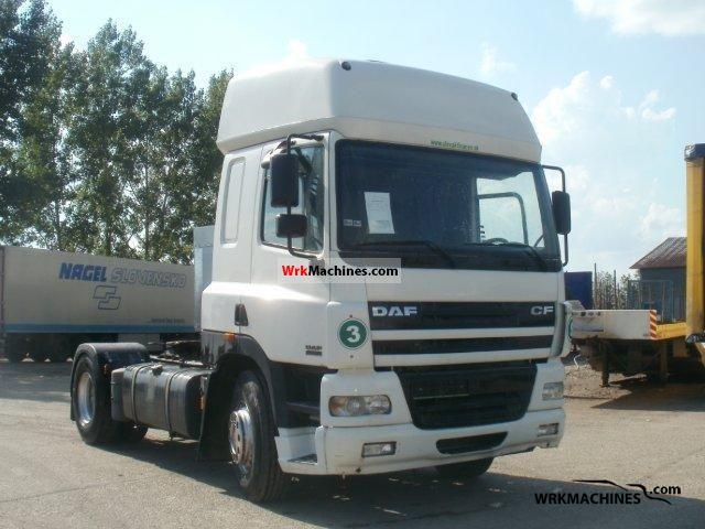 2001 DAF CF 85 85.430 Semi-trailer truck Standard tractor/trailer unit photo
