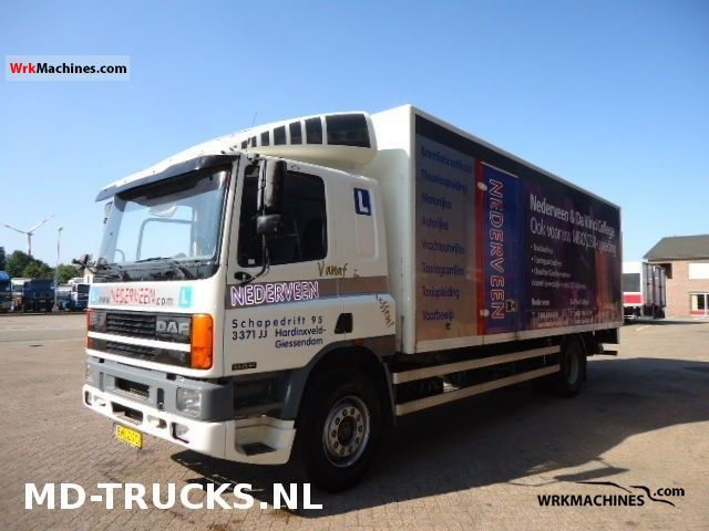 1996 DAF 75 75.240 Truck over 7.5t Box photo