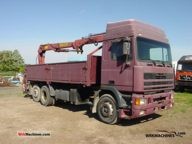 1991 DAF 95 95.330 Truck over 7.5t Stake body photo