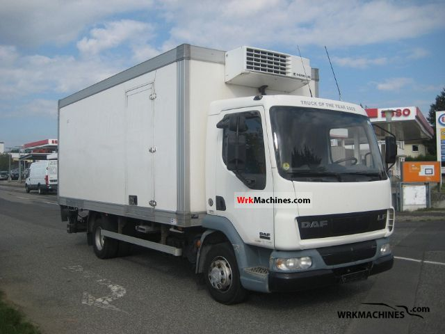2002 DAF LF 45 45.150 Truck over 7.5t Refrigerator body photo