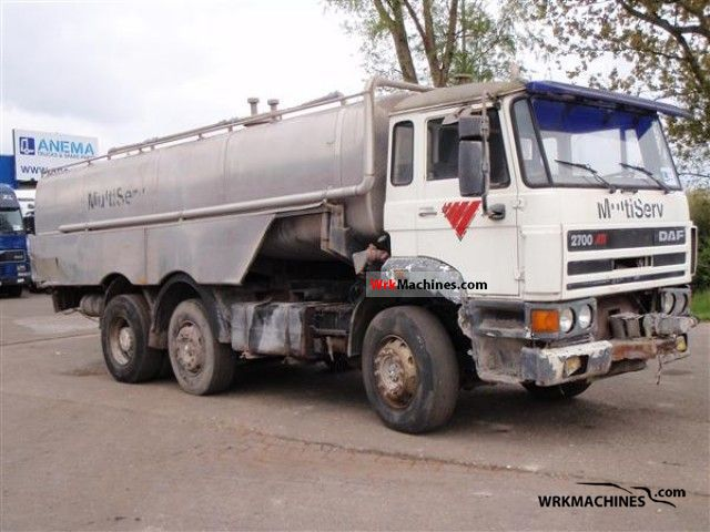 1991 DAF F 2700 2700 Truck over 7.5t Other trucks over 7,5t photo
