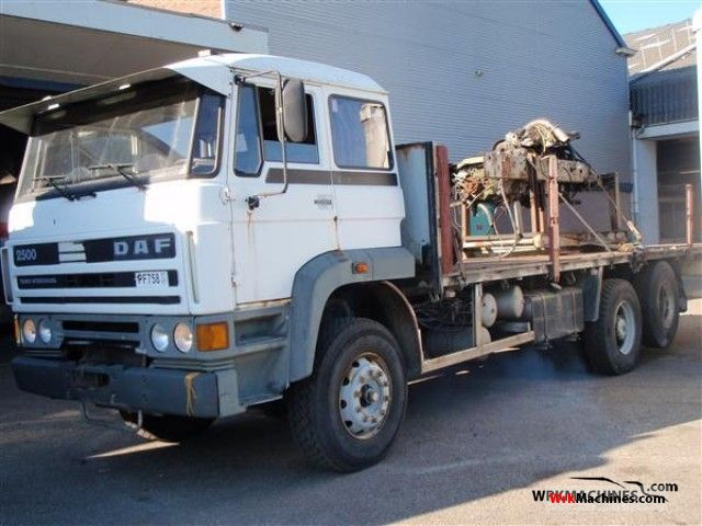 1987 DAF F 2500 2500 Truck over 7.5t Stake body photo