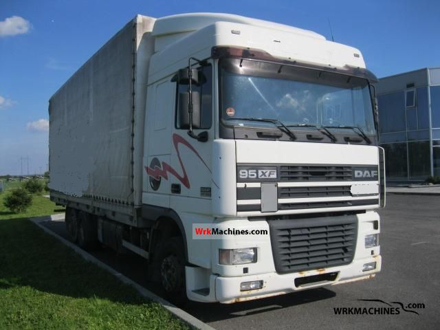 1999 DAF 95 XF 95 XF 430 Truck over 7.5t Stake body and tarpaulin photo