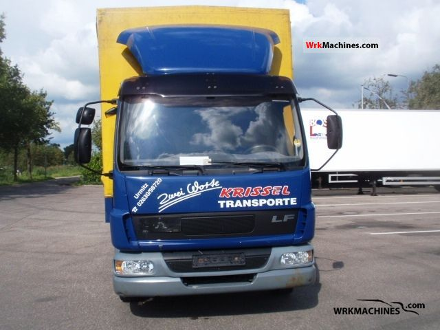 2004 DAF LF 45 45.180 Truck over 7.5t Stake body and tarpaulin photo