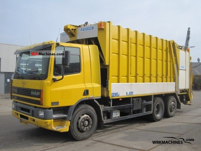 1999 DAF 75 CF 75 CF 250 Truck over 7.5t Refuse truck photo