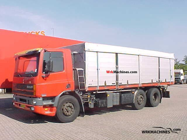 1994 DAF 75 75.270 Truck over 7.5t Tipper photo
