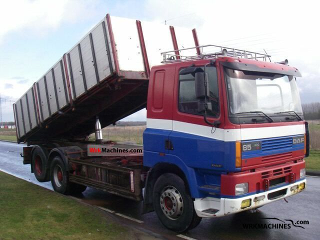 1995 DAF 85 85.400 Truck over 7.5t Tipper photo