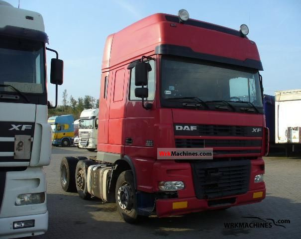 2001 DAF 95 XF FTG 95 XF 480 Semi-trailer truck Other semi-trailer trucks photo