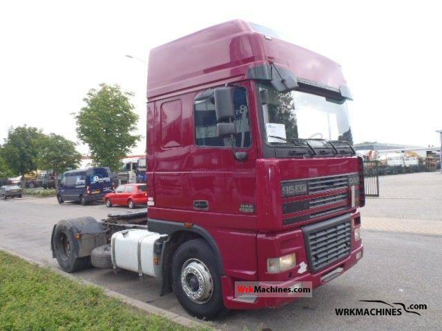 2002 DAF 95 XF 95 XF 380 Semi-trailer truck Standard tractor/trailer unit photo