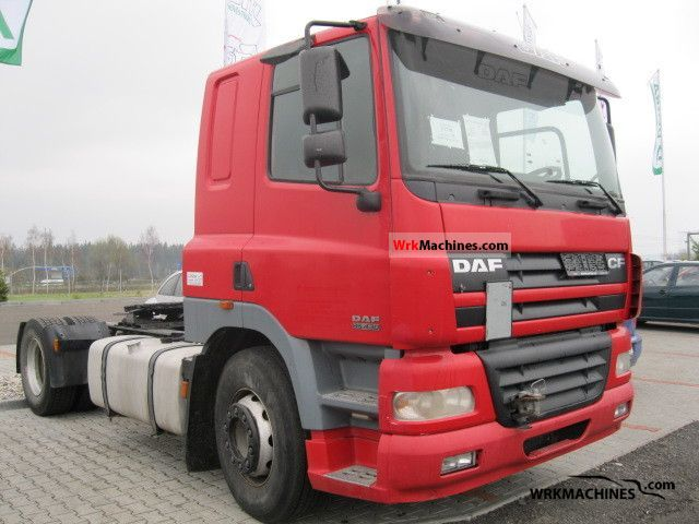 2003 DAF CF 85 85.430 Semi-trailer truck Standard tractor/trailer unit photo