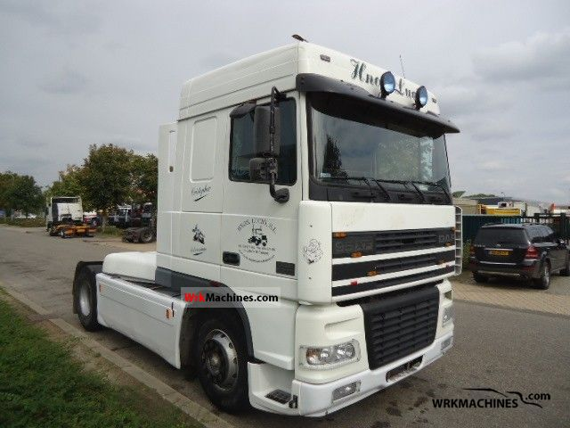 1998 DAF 95 XF 95 XF 480 Semi-trailer truck Standard tractor/trailer unit photo