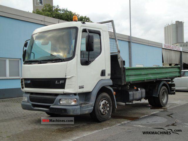 2003 DAF LF 45 45.180 Truck over 7.5t Tipper photo