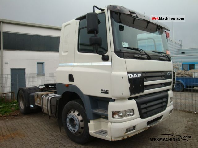 2005 DAF CF 85 85.430 Semi-trailer truck Standard tractor/trailer unit photo