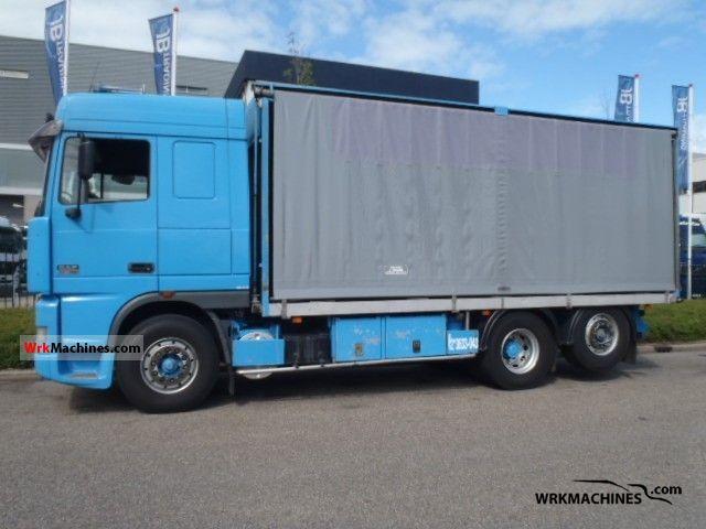 2001 DAF 95 XF 95 XF 380 Truck over 7.5t Stake body and tarpaulin photo