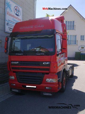 2005 DAF CF 85 85.430 Semi-trailer truck Volume trailer photo