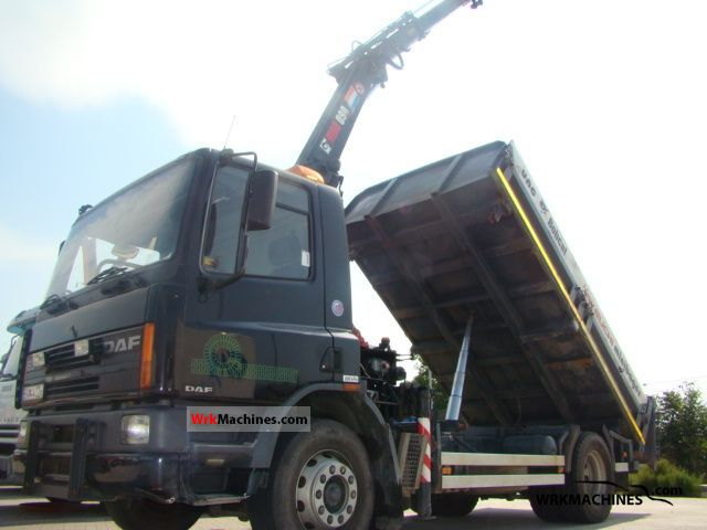 1996 DAF 65 65.180 Truck over 7.5t Tipper photo