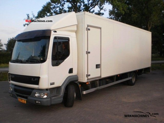 2006 DAF LF 45 45.180 Truck over 7.5t Refrigerator body photo