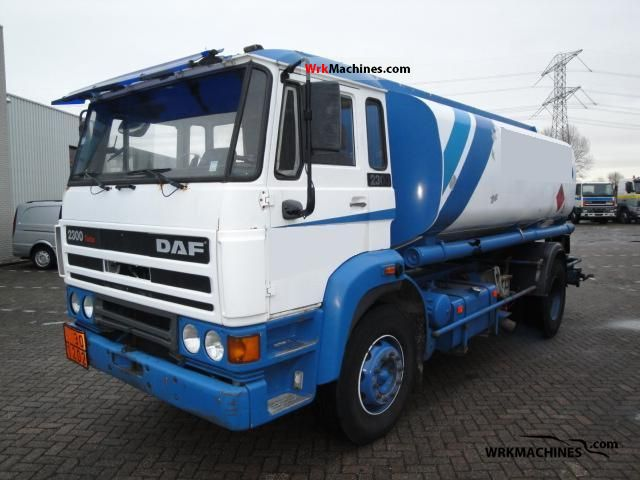 1991 DAF F 2300 2300 Truck over 7.5t Tank truck photo