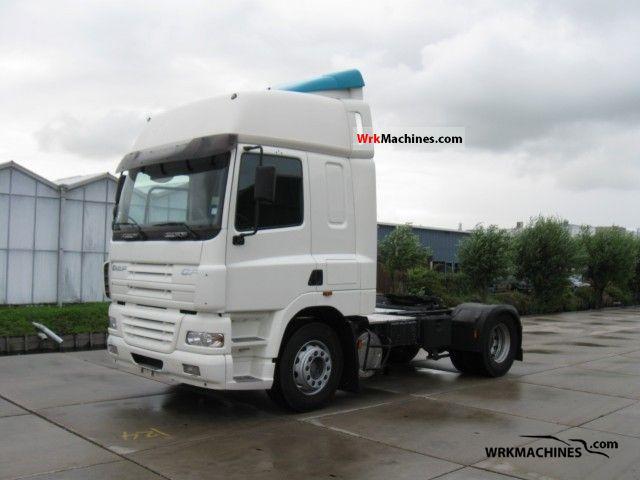 2005 DAF CF 85 85.380 Semi-trailer truck Standard tractor/trailer unit photo