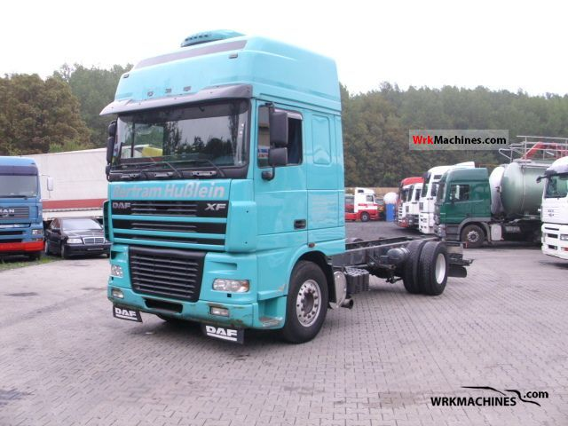 2006 DAF XF 95 95.480 Truck over 7.5t Chassis photo