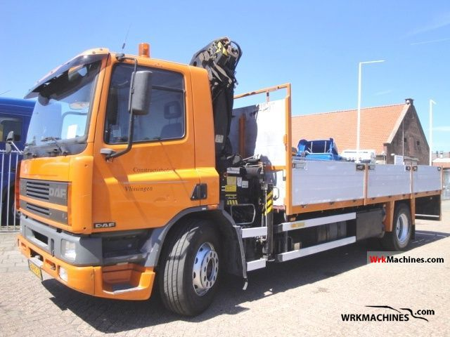 1996 DAF 75 75.240 Truck over 7.5t Truck-mounted crane photo